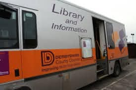 Picture of a Derbyshire Mobile Library van